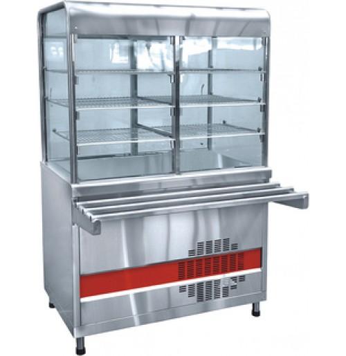 Прилавок для холодных закусок Abat ПВВ(Н)-70КМ-С-НШ