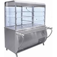 Прилавок-витрина холодильный Abat ПВВ(Н)-70М-С-НШ (Патша)