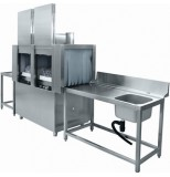 Машина посудомоечная тоннельная Abat МПТ-1700