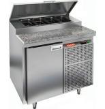 Стол охлаждаемый для пиццы HICOLD PZ1-1/GN (1/3) гранит