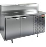 Стол охлаждаемый для пиццы HICOLD PZ2-11/GN (1/6)