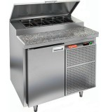 Стол охлаждаемый для пиццы HICOLD PZ2-1/GN (1/6) гранит