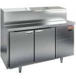 Стол охлаждаемый для пиццы HICOLD PZ1-11/GN (1/3)
