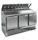Стол охлаждаемый для пиццы HICOLD PZE1-111/GN (1/3H)