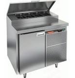 Стол охлаждаемый для пиццы HICOLD PZ2-1/GN (1/6)