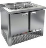 Стол холодильный для салатов HICOLD SLE3-11GN (без крышки)