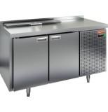 Стол холодильный для салатов HICOLD SL2-11SN (1/6) без крышки