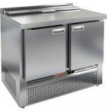 Стол холодильный для салатов HICOLD SLE2-11GN (1/6) без крышки