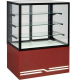 Витрина кондитерская UNIS Cube 100 красная